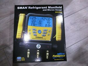 Fieldpiece Sm380v Wireless 3 port Sman Refrigerant Manifold And Micron Gauge