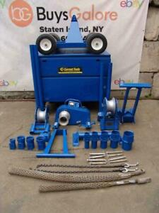 Current Tools 8890as Mantis Mobile Cable Puller Tugger 8000 Lbs Works Great