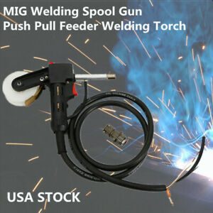 Us Ship 6ft Mig Welder Spool Gun Wire Feeder Aluminum Welder Use Standard Spool