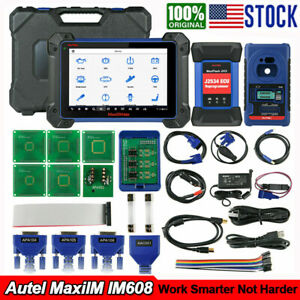 2021 Autel Im608 With Xp400 Key Programming Ecu Coding Diagnostic Scanner Tool