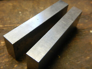 Vintage Small Set Of Machinist Parallels Parallel Bars Mill Jig Fixture