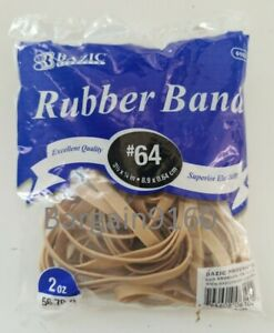 Rubber Band Size 64 3 1 2 X 1 4 2 Oz Bag Made In Usa