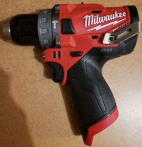 Milwaukee 2504 20 12v 1 2 Brushless Hammer Drill tool Only