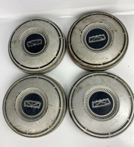 4 Vintage Ford Galaxy Fairlane Ltd Police Fomoco Hub Caps