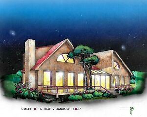 The Chalet A Half 27x58 Customizable Shell Kit Home Delivered Ready To Build