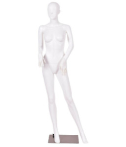 3pcs 5 8 Ft Female Mannequin Manikin With Metal Stand Plastic Full Body