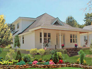 Sheffield Ca Bungalo 28x54 Customizable Shell Kit Home Delivered Ready To Build