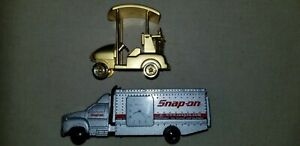Gold Golf Cart Snap On Tool Truck Watches