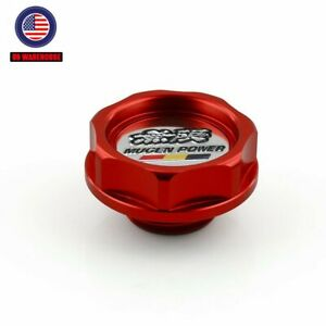 Mugen Power Aluminum Car Oil Filler Cap Racing Engine Tank Cover For Honda Red