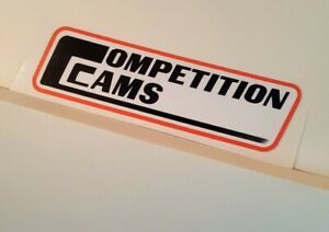 Competition Cams Sticker Decal Hot Rod Rat Rod Vintage Look Drag Race