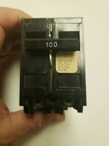 Crouse Hinds 100 Amp Circuit Breaker Plug In Type Mp