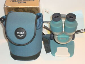 Nikon Mini Field Stereo Microscope With Case Box Excellent Condition