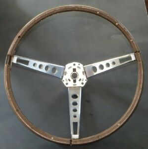 1965 66 Ford Mustang Deluxe Pony Steering Wheel