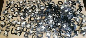 195 Dymo 3 Black Magnetic Letters numbers symbols For Retail business Sign