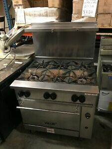 2019 Vulcan 36s 6bn Endurance Natural Gas Range With Standard Oven