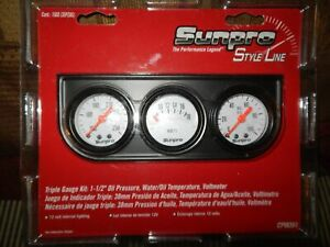 Special Deal Triple Gauge Set Mechanical Water Volt Oil Imports Americans Hotrod