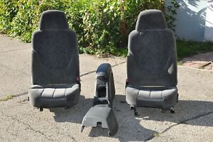 Chevy S10 Bucket Seats And Centre Console