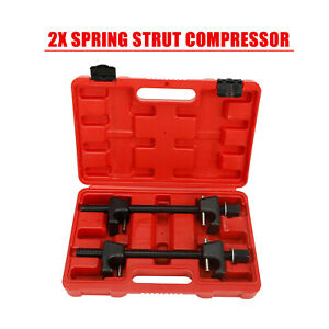 2x Heavy Duty Coil Spring Strut Compressor Shocks Remover Suspension Tool