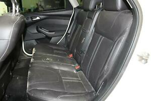2012 Ford Focus rear Seat Black Back Bench Leather 2nd Second Row Oem