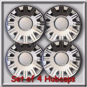 4 16 Ford Crown Victoria Hubcaps 2003 2008 Ford Crown Vic Police Wheel Covers