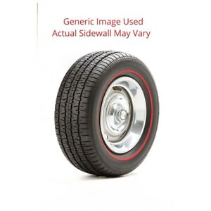 225 70r14 Radial T A Bf Goodrich Tire With Red Line Modified Sidewall 1 Tire