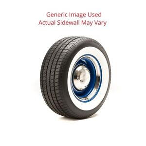 275 60r15 Streetsteel Milestar Tire With 2 75 White Wall Modified Sidewall 1