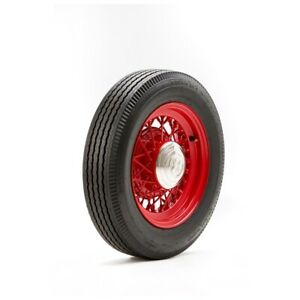 750r16 Deluxe Auburn Tire With Black Wall Modified Sidewall 1 Tire