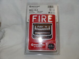 Notifier Nbg 12lx Fire Alarm Addressable Dual Action Pull Station Honeywell
