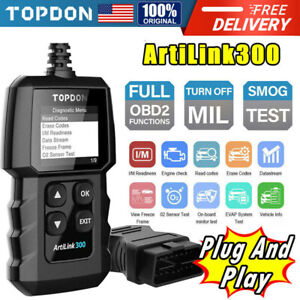 New Obdii Scanner Code Reader Obd2 Eobd Can Scan Tool Diagnostic Suv Car Truck