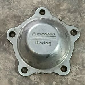 American Racing Torq Thrust Wheel Polished 3505293 Metal Center Cap Vn515 Vn505