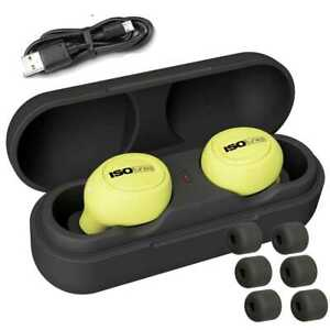Isotunes It 12 Free True Wireless Bluetooth Earbuds Safety Yellow New
