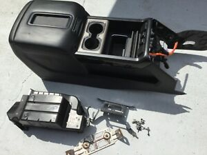 15 19 Sierra Silverado Denali Center Console Crew Black With Mounting And Bose