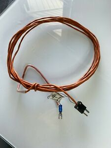 9 3 Type j High Temp Thermocouple Ptfe Wire 5 Feet 346 To1 400f 210 To 760c