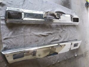 1970 Chevrolet Chevelle malibu Front Rear Bumpers