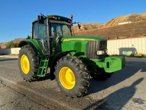 John Deere 7520 2007 4x4 Loaded 150 Hp Very Clean Ex Southern California City