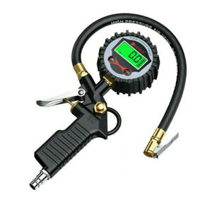 200psi Car Tyre Pressure Gauge Motorbike Digital Air Auto Tire Meter Tester