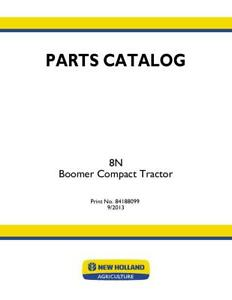 New Holland Boomer 8n Compact Tractor Parts Catalog