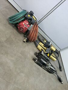 Set Hurst Jaws Of Life Extrication Gas Hydraulic Pump W 4 Atttachments Offer