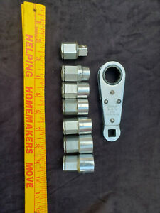 Snap On Tools Wa28 Pass Through Thru Socket Set Alignment Ratchet Tool