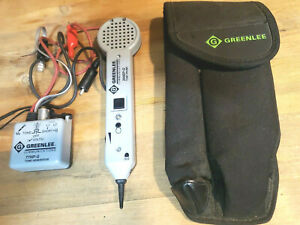 Greenlee Tools Tone Probe Kit 200ep g Probe 77hp g 6a Generator Mint W case