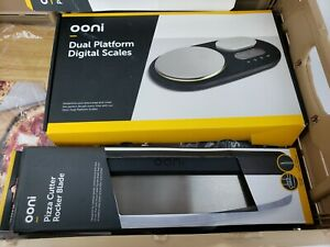 Ooni Pizza Oven Accessories Lot 5 Items Peel Baking Stones Digital Scale