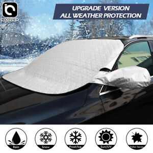 Car Windshield Snow Cover Magnetic Sun Shade Protector Winter Dust Frost Guard