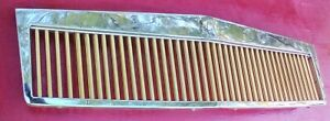 2000 2005 Cadillac Deville Grille Dts Classic Vertical Gold Bars Chrome