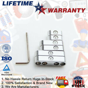 7mm 8mm 9mm Chrome Spark Plug Wire Separators Dividers Looms For Chevy Ford Sbc