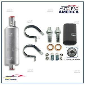 Walbro Universal 255lph Inline High Pressure Fuel Pump External With Kit Gsl392