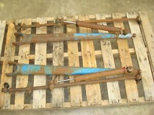Ford 600 800 Tractor Power Steering Radius Rods Tie Rods Cylinders