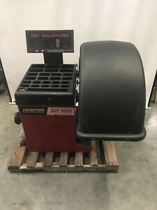 Hunter Dsp 9000 Dsp9002 Wheel Balancer W Split Weight