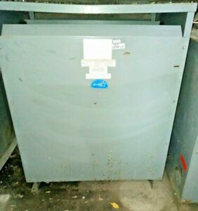 Square D Sorgel 300t3hcuee Gen Purpose Transformer 300 Kva 480 208y 120 3 Ph