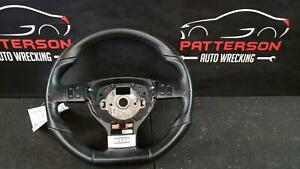 2009 Vw Golf Gti Leather Wrapped Steering Wheel Black Manual Transmission