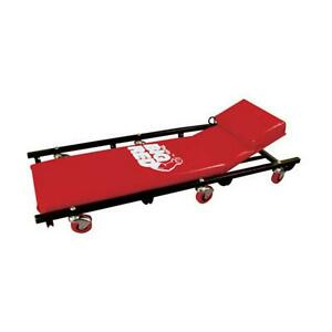 Torin Tr6452 Big Red Rolling Garage Creeper 40 Padded Mechanic Cart With Adjus